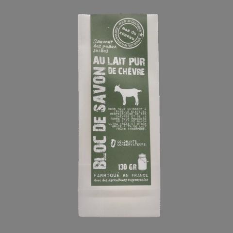 Savon au lait pur de Chèvre